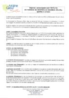 Règlement subvention signé le 20 déc 2017