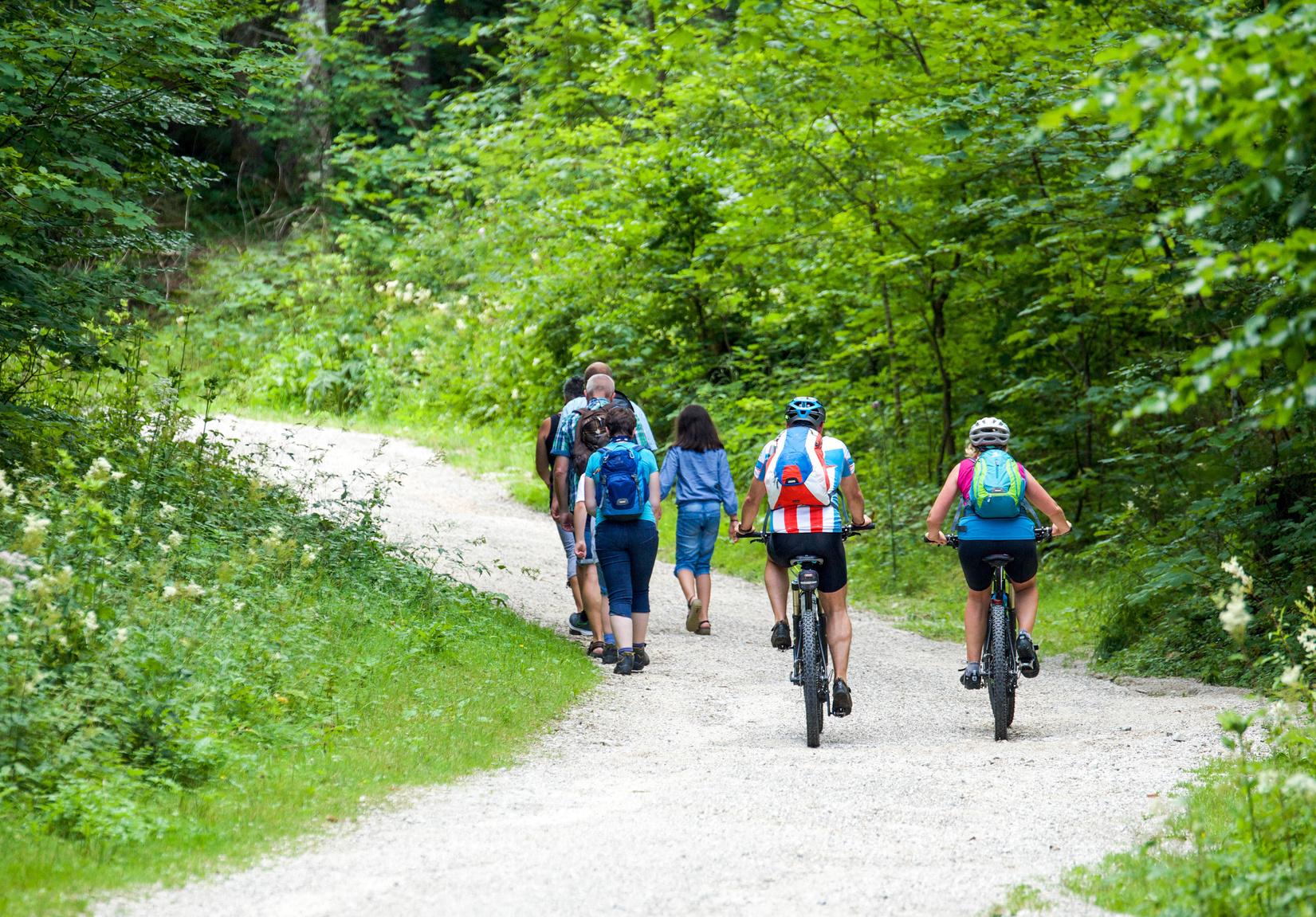 Parcours de randonnées à vtt Maine coeur de Sarthe