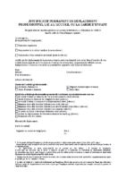 Justificatif de déplacement professionnel – 24/11/20