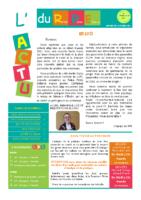 L'Actu du RPE – 8 mars au 23 avril